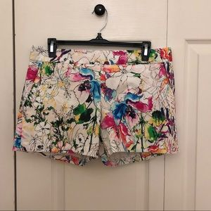 Express Shorts - NWT EXPRESS Multicolored Floral Shorts- Size 6